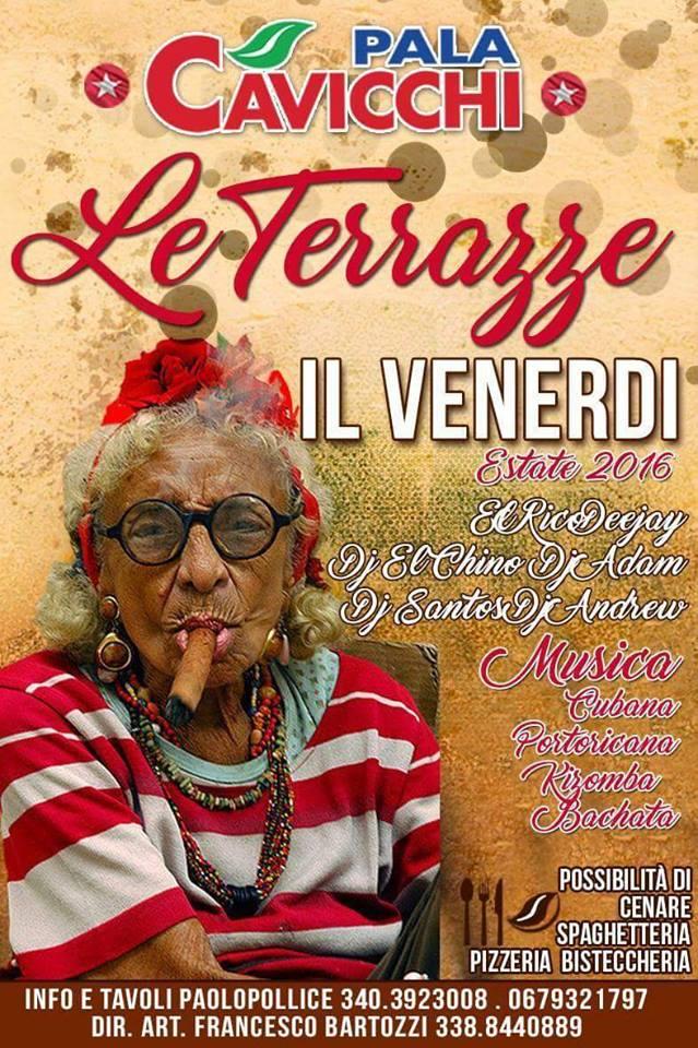 Venerdì Salsero – Estate  2016 – Le Terrazze Palacavicchi