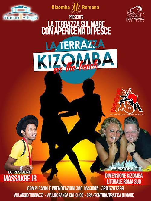 La Terrazza Kizomba on the Beach – Sabato – Marine Village