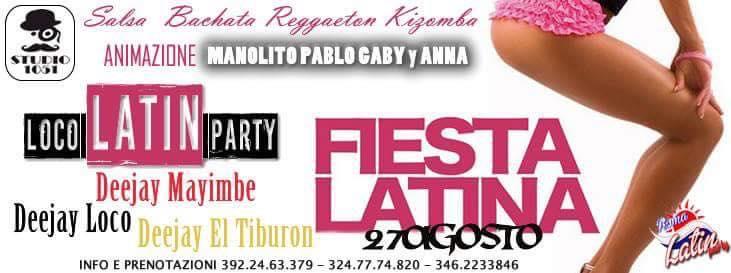 Loco Latin Party – Sabato de Los Salseros – Studio 105