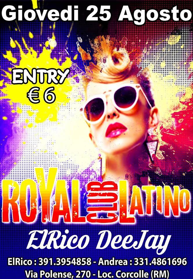 Royal Latino – Il Giovedì Salsero