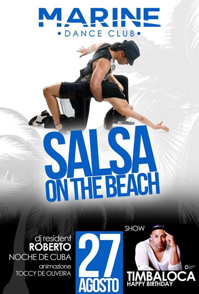 Salsa on The Beach – Sabato – Marine Village