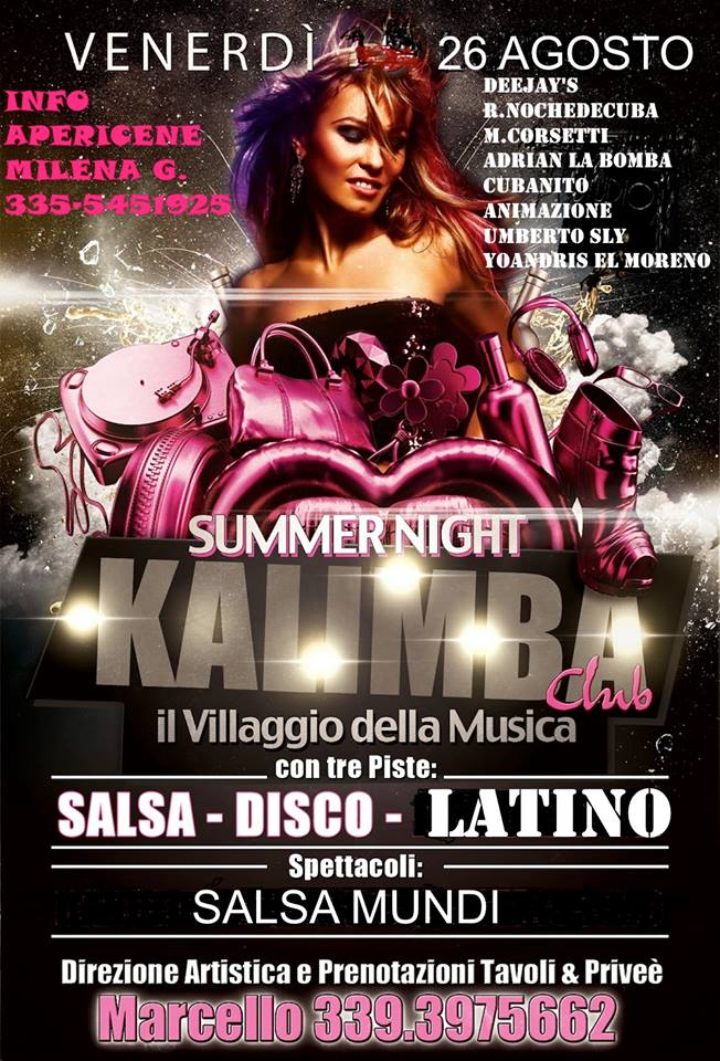 Summer Night – Venerdì – Kalimba