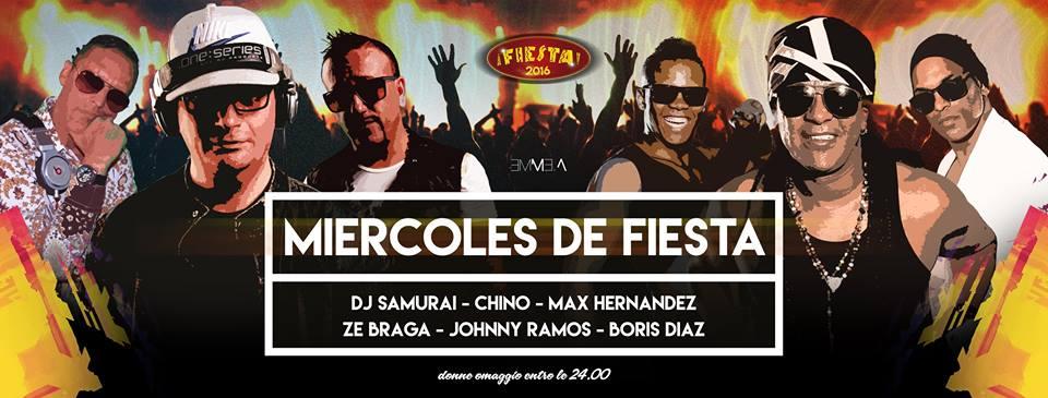 Miercoles de Fiesta – Mercoledì – Fiesta