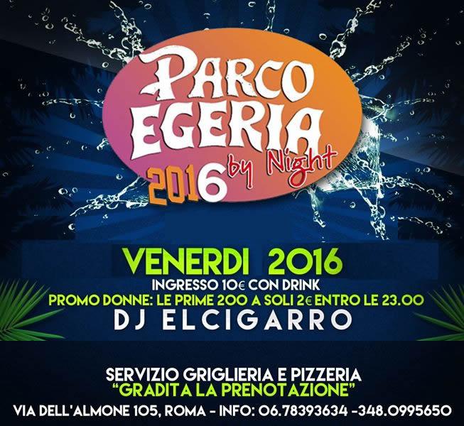 Salsa – Venerdì – Parco Egeria